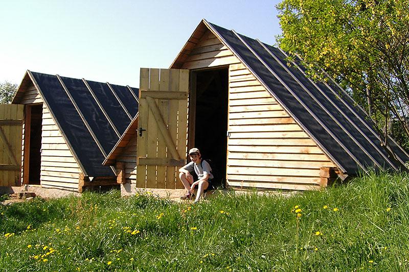 Unsere Blockhütten